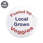 "Fueled by Local 3.5"" Button (10 pack)"