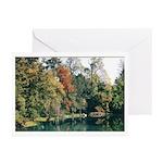 Sacile's Fall Foliage Greeting Cards