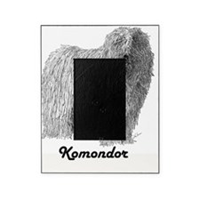 komondor-with-text Picture Frame