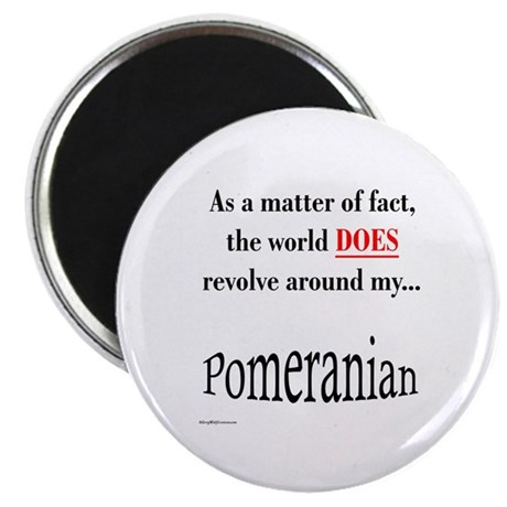 Pomeranians World Magnet