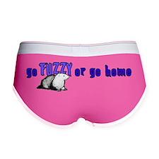Go Fuzzy bumper sticker Women's Boy Brief