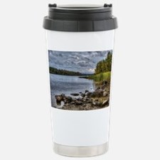 Fall Lake full Travel Mug