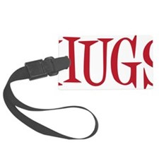 red Hugs Luggage Tag