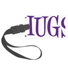 purple Hugs Luggage Tag