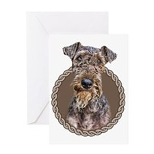 AiredaleTerrier 001 Greeting Card