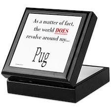 Pug World Keepsake Box