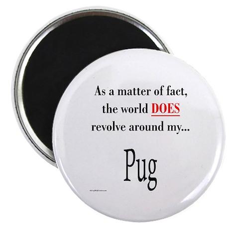 Pug World Magnet