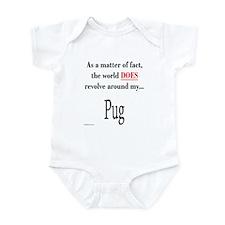 Pug World Infant Bodysuit