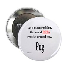 Pug World Button