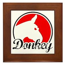donkey2rw Framed Tile