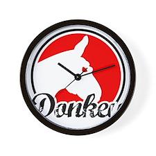donkey2rw Wall Clock