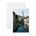 Tower of Sacile Greeting Cards
