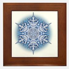 Snowflake Designs - 034 Framed Tile
