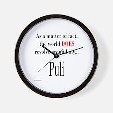 Puli World Wall Clock