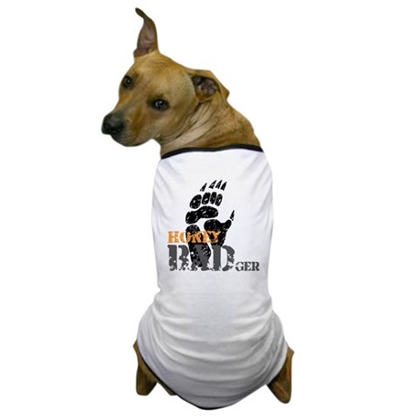 honey-badger-1 Dog T-Shirt
