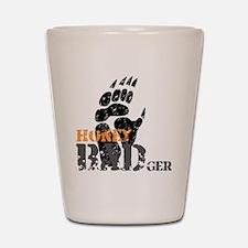 honey-badger-1 Shot Glass