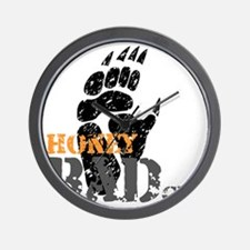 honey-badger-1 Wall Clock