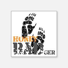 "honey-badger-2 Square Sticker 3"" x 3"""
