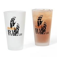 honey-badger-2 Drinking Glass