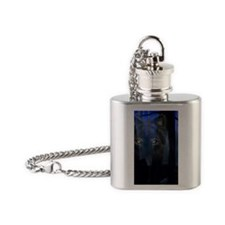 WolfWood3Ghard Flask Necklace