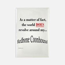 Coonhound World Rectangle Magnet