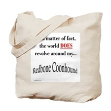 Coonhound World Tote Bag