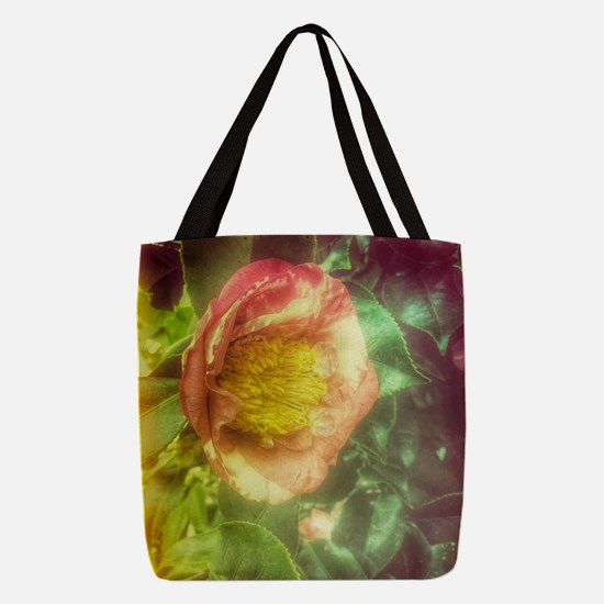 Single Flower 2 Polyester Tote Bag