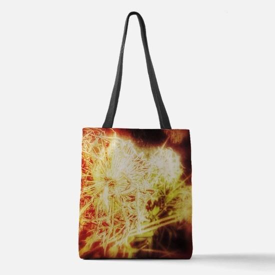 Fireworks 2b Polyester Tote Bag