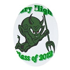 CH class of 2013 Oval Ornament