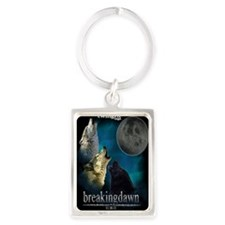Twilight Breakingdawn Moon Wolfs Portrait Keychain
