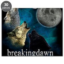 Twilight Breakingdawn Moon Wolfs Mousepad Puzzle