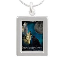 Twilight Breakingdawn Mo Silver Portrait Necklace