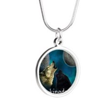 Twilight Breakingdawn Moon W Silver Round Necklace