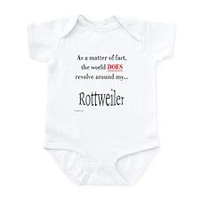 Rottweiler World Infant Bodysuit