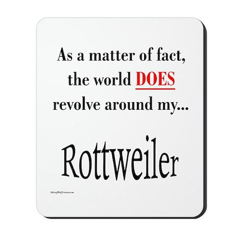 Rottweiler World Mousepad