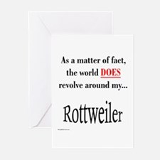 Rottweiler World Greeting Cards (Pk of 10)