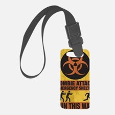 Zombie SHERLTER FINAL FLAT Luggage Tag
