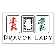 dragon lady coin purse final Decal