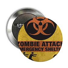 "Zombie SHERLTER FINALbig3FLAT 2.25"" Button"