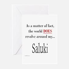 Saluki World Greeting Cards (Pk of 10)