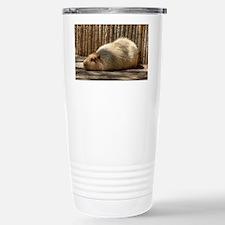 Capybara in Repose Travel Mug