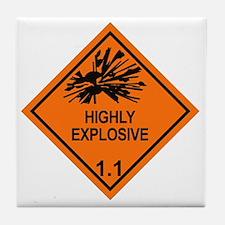 Explosive-1.1 Tile Coaster
