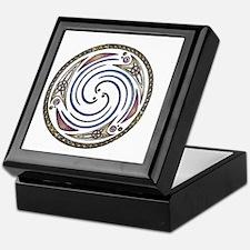 Celestial Triple Spiral 2 Keepsake Box