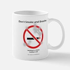 No Breathing Mug