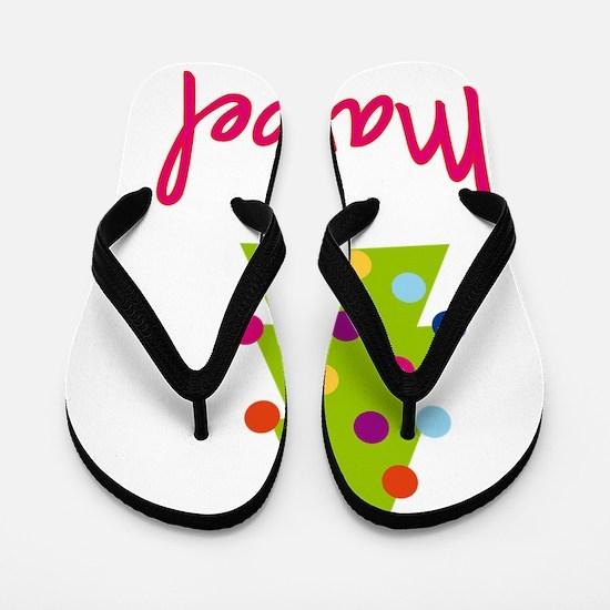 Christmas-tree-Maribel Flip Flops
