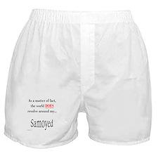 Samoyed World Boxer Shorts