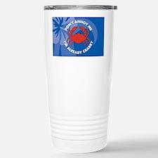 DontAnnoyMe-laptopskin Stainless Steel Travel Mug
