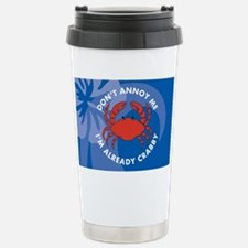 DontAnnoyMe-laptopskin Travel Mug