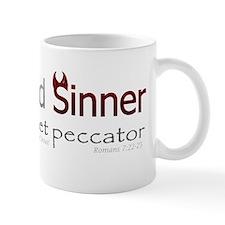 Saint and Sinner Bumpersticker Mug