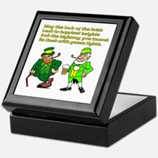Luck of the Irish Keepsake Box